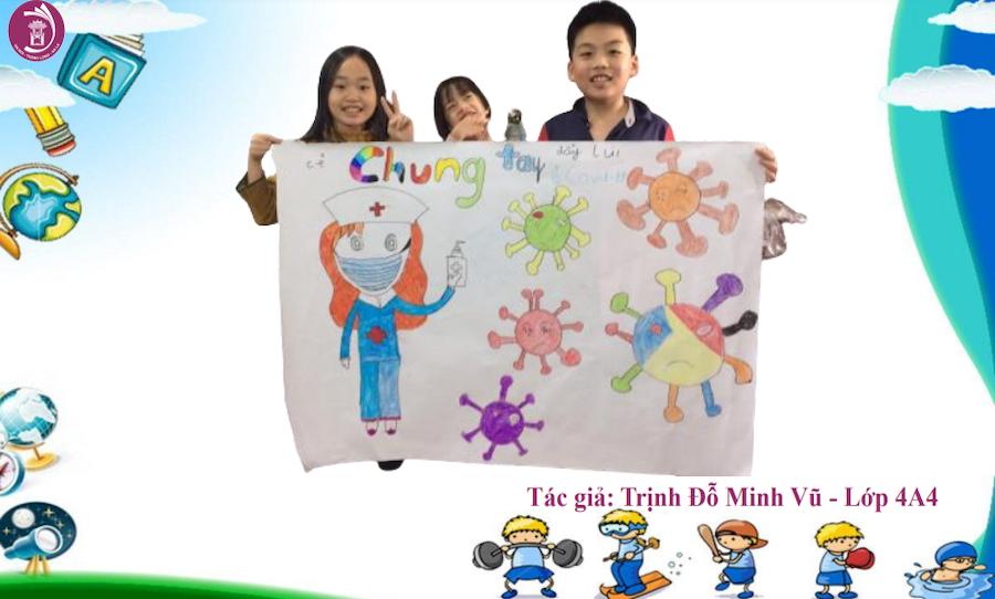 Báo GD&TĐ:Món quà đặc biệt học sinh Hà Nội gửi tặng y bác sĩ tham gia chống dịch