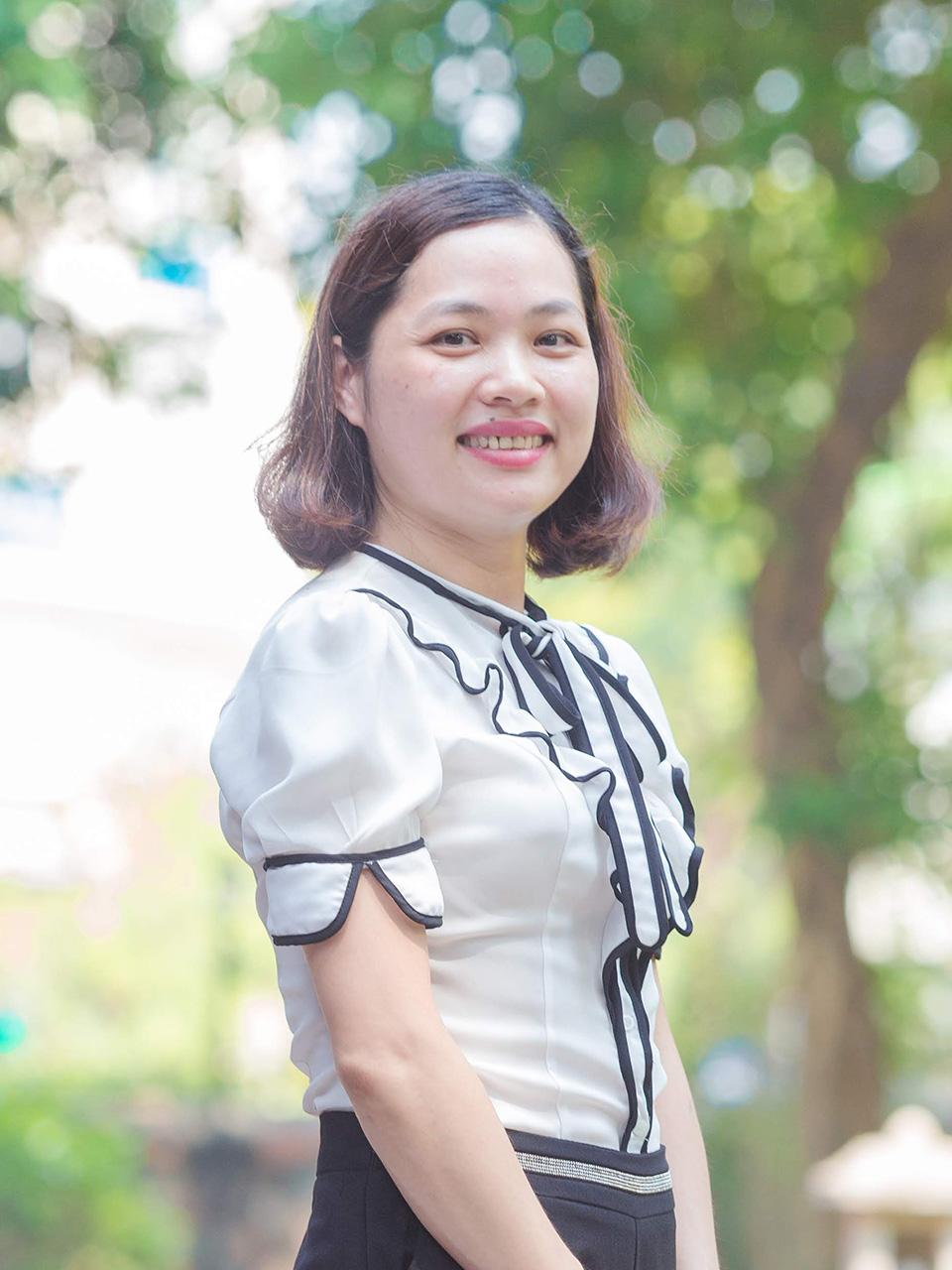 Cô Lê Thị Thanh Vân