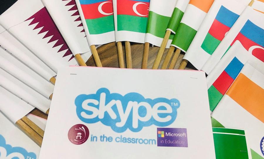 Skype-a- thon 2019 - Global connection - Lớp học không biên giới
